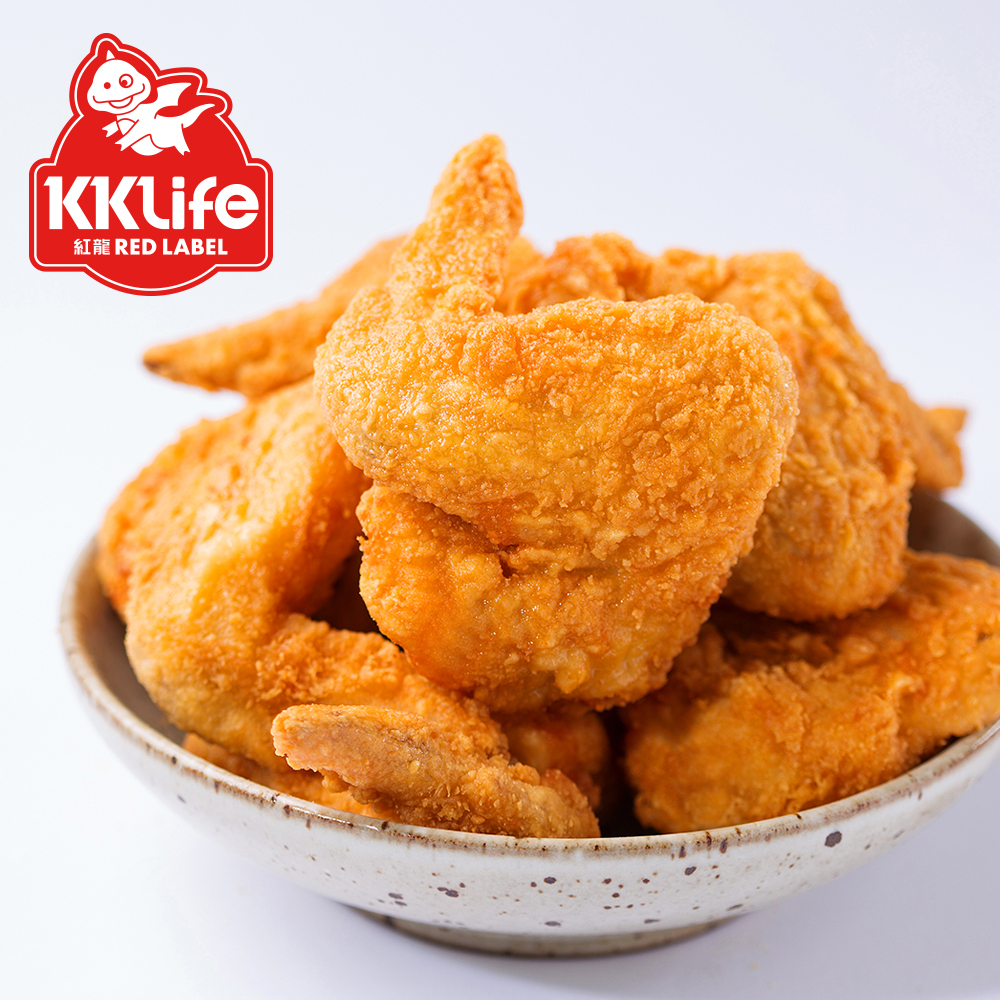 【KK Life-紅龍】全熟香酥勁嫩雞翅 (5支/袋)