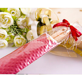 婚禮小物-台灣精品-雙囍箸福筷子進口檜木.施華洛世奇水鑽-二進禮姊妹禮幸福朵朵