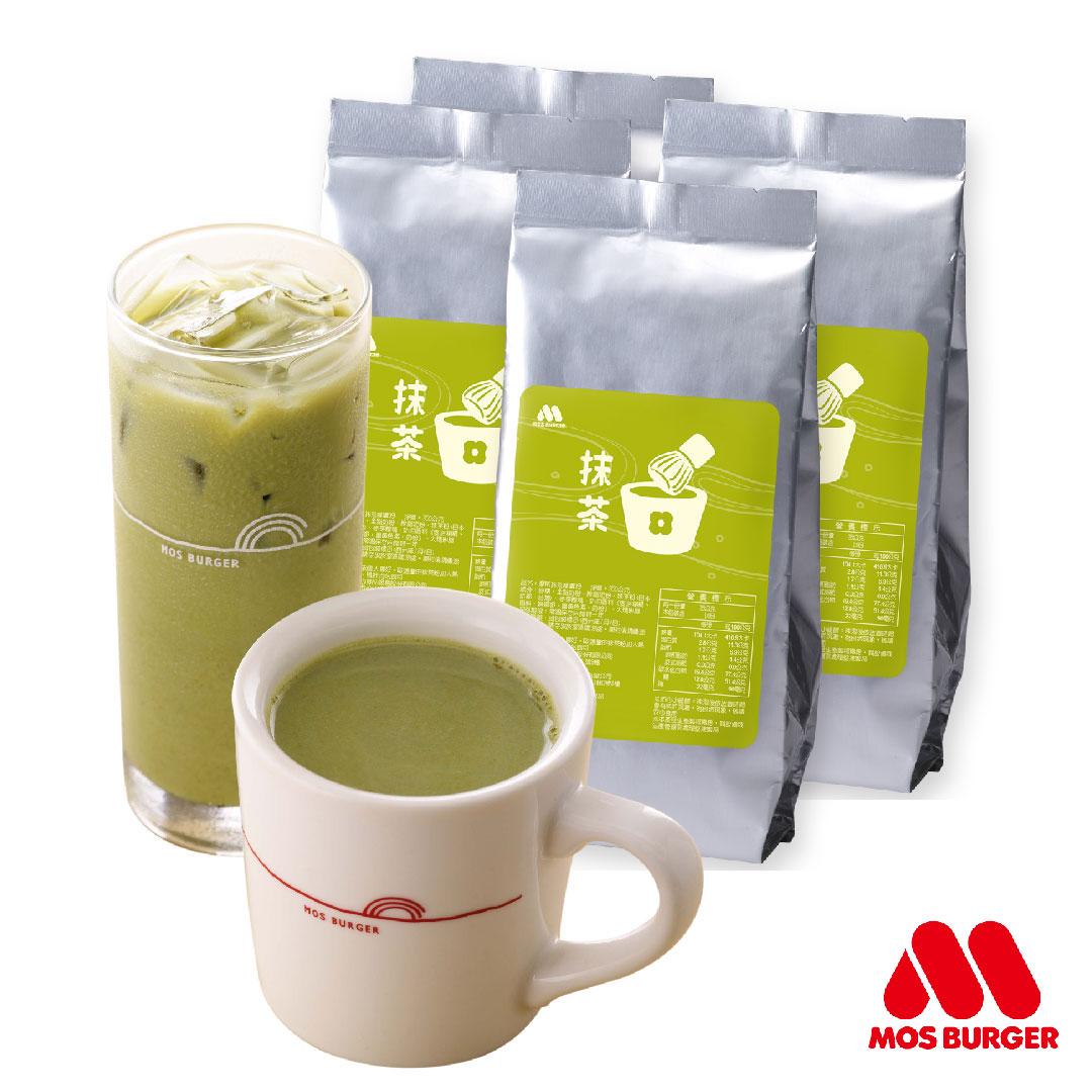 MOS摩斯漢堡_抹茶拿鐵粉(350公克/包) 4入組