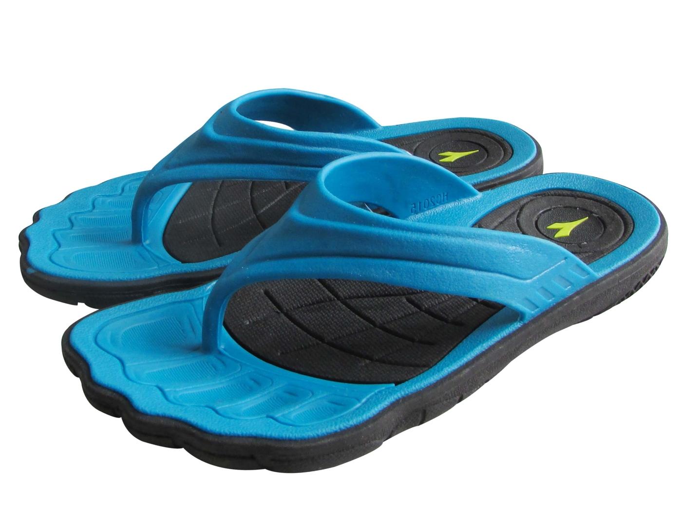 『雙惠鞋櫃』◆DIADORA迪亞多那 ◆兒童款 英雄系列 人字運動拖鞋 ◆ (DA2567) 藍