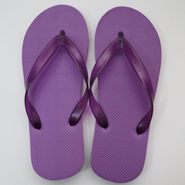 EVA素色人字拖鞋 男款-紫|台製海灘拖 台灣製 人字拖 沙灘拖 夾腳拖 拖鞋 室內室外 兩用