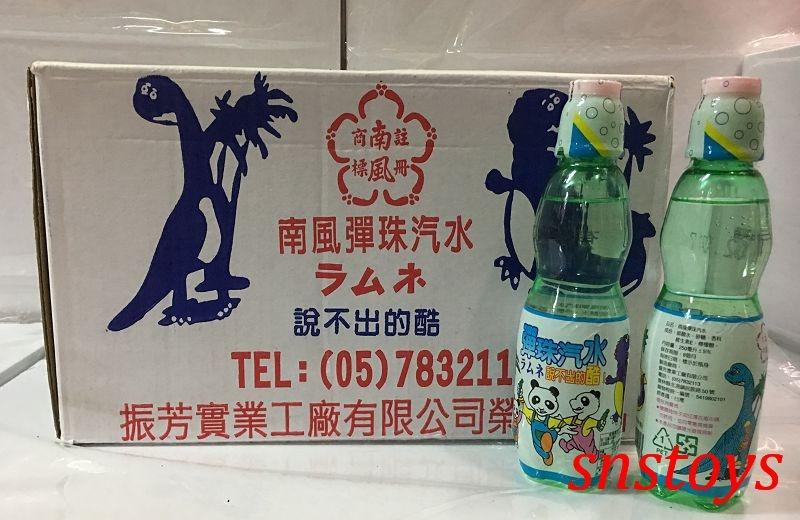 sns古早味懷舊零食彈珠汽水塑膠瓶裝30罐整箱量販價480元市價1罐25元