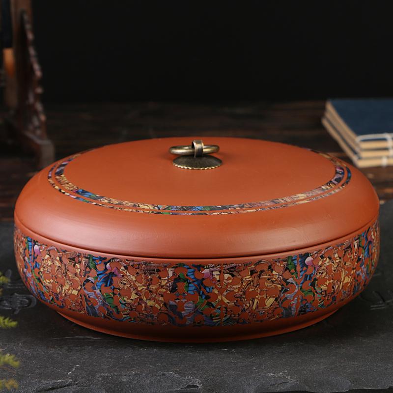 紫砂陶瓷茶葉罐大號密封茶葉罐存茶罐TW都市韓衣