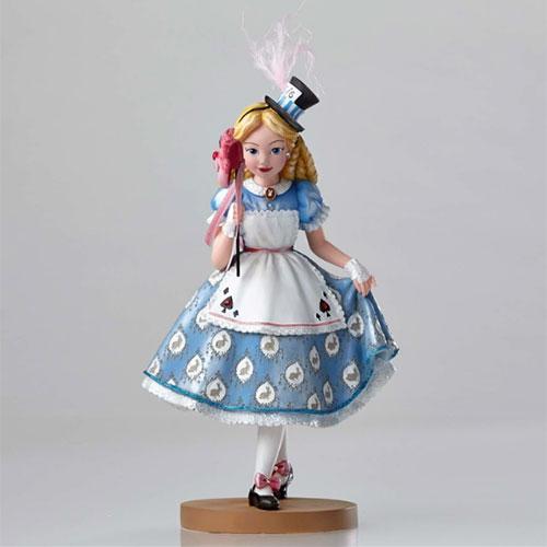 Enesco精品雕塑迪士尼愛麗絲65週年化裝舞會塑像Disney Showcase funbox生活用品EN83173