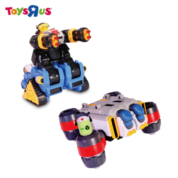 玩具反斗城 迷你特工 T-buster T坦克 T飛行