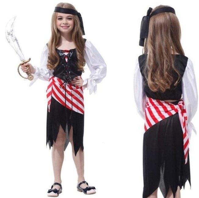 俏麗小海盜女海盜裝扮服 兒童造型服成人巫婆裝白雪公主聖誕舞會派對服裝冰雪奇緣公主裝