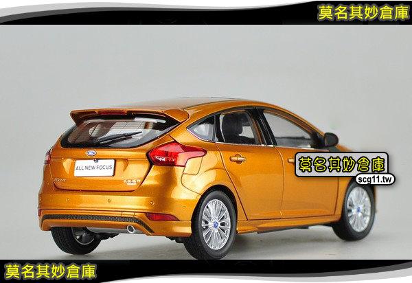 莫名其妙倉庫【CG019 1:18 模型車 (5D)】New Focus MK3.5 配件精品空力套件 2015