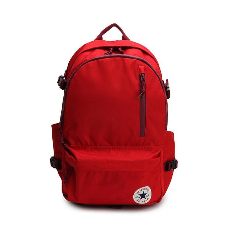 CONVERSE-紅色休閒雙肩後背包-NO.10007784-A03