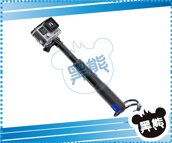 黑熊館for GoPro專用延長桿39吋SP GADGETS延長桿39吋適用GOPRO HERO4 HERO3