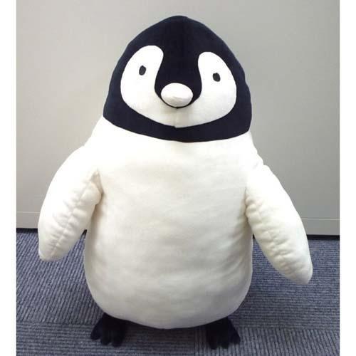小福部屋企鵝L號日本海洋生物企鵝家族抱枕玩偶娃娃玩具交換禮物新品上架