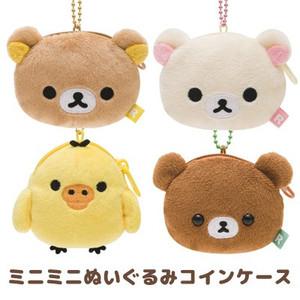 懶懶熊懶妹蜜茶熊零錢包玩偶大頭吊飾681056通販屋