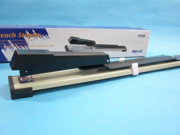 Kw-trio可得優3號可調式釘書機5900長臂加長型釘書機(深31.7cm)MIT製/一台入 定[#470]