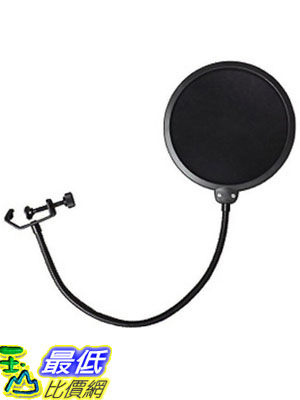 [104美國直購] Dragonpad pop filter 錄音麥克風濾網 Studio Microphone 360 Flexible Gooseneck Holder