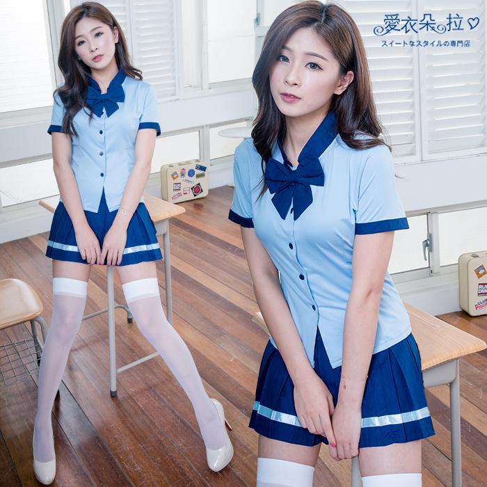 性感誘惑角色服 一般尺碼 學生制服派對服 愛衣朵拉