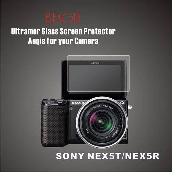 (BEAGLE)鋼化玻璃螢幕保護貼 SONY NEX-5T/NEX-5R 專用-可觸控-抗指紋油汙-耐刮硬度9H-防爆-台灣製