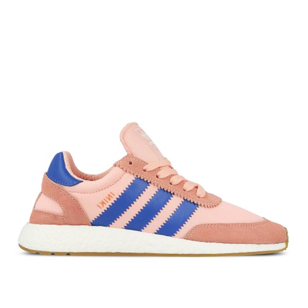 adidas Originals INIKI Runner W粉紅藍麂皮復古基本款慢跑休閒鞋女鞋GT Company BA9999