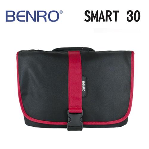BENRO百諾精靈系列側背包SMART 30黑可放1機3鏡1閃12吋筆電勝興公司貨