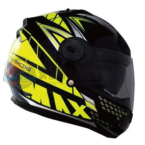 中壢安信THH TS-43A TS43A MAX黑螢光黃安全帽全罩安全帽買就送好禮2選1