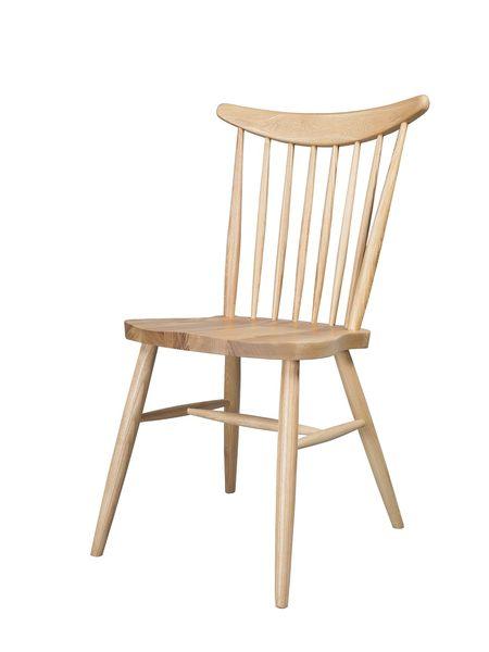 梣木格柵餐椅-梣木色【DENMARK丹麥梣木】優渥實木家具 WRCH01R1