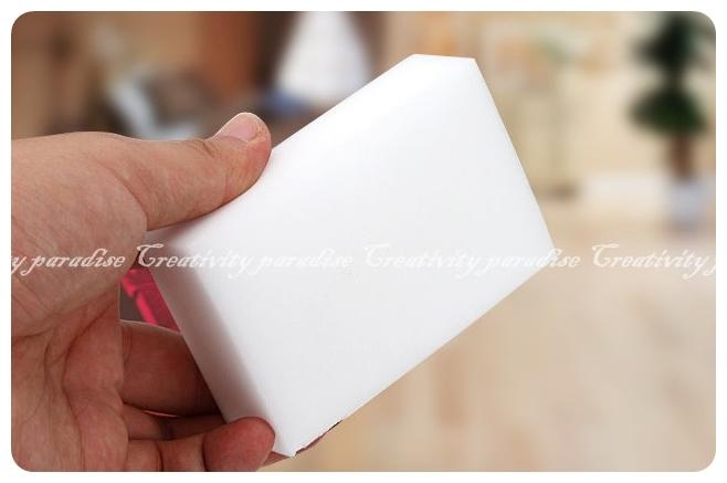 魔術海綿1073裸裝10x7x3高科技泡綿神奇魔力廚房清潔海綿奈米菜瓜布