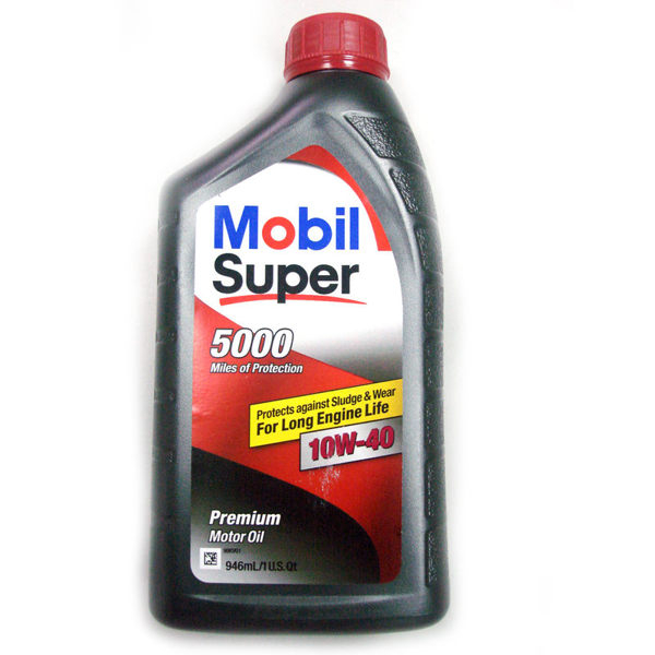 【美孚MOBIL】SUPER 5000 10w40 機油