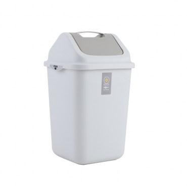 HOLA 手提搖蓋垃圾桶12L