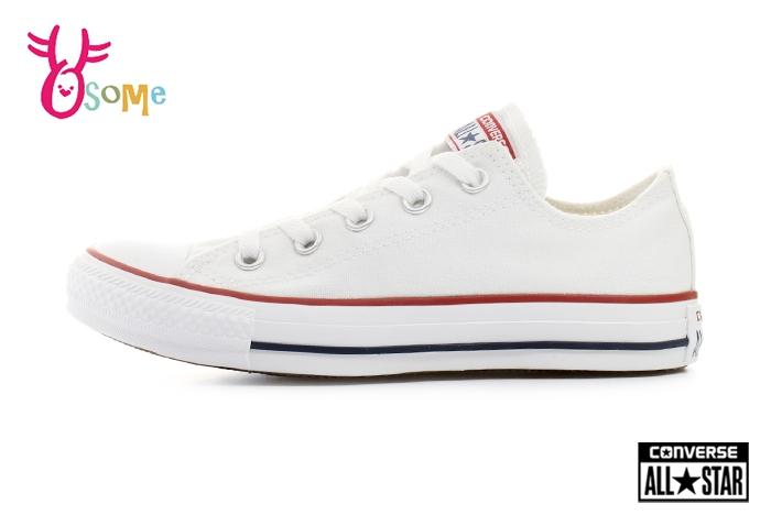 All STAR Converse帆布鞋基本款低筒帆布鞋G9831白色OSOME奧森童鞋小朋友