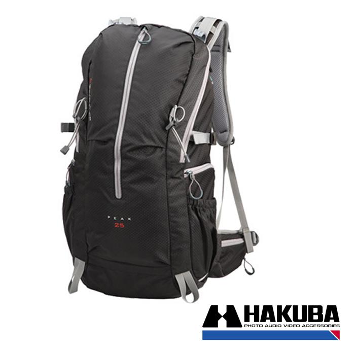 日本HAKUBA GW-ADVANCE PEAK 25先行者雙肩後背相機包黑色HA24997VT