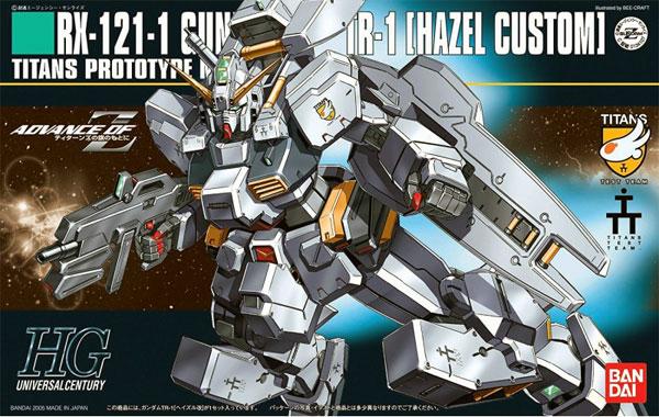 鋼彈模型HG 1 144 RX-121-1 GUNDAM TR-1 HAZEL CUSTOM海茲爾改TOYeGO玩具e哥