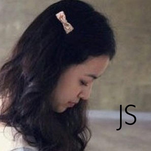 髮夾【JS精心苑】田園風格可愛碎花布藝 蝴蝶結髮夾邊夾/飾品/配件/髮飾/髮夾