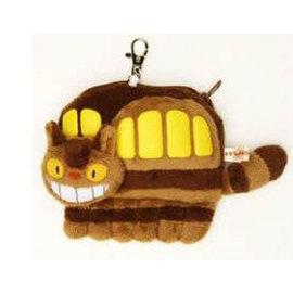 【發現。好貨】日本宮崎駿TOTORO龍貓公車伸縮車票夾票 卡套 悠遊卡夾 零錢包