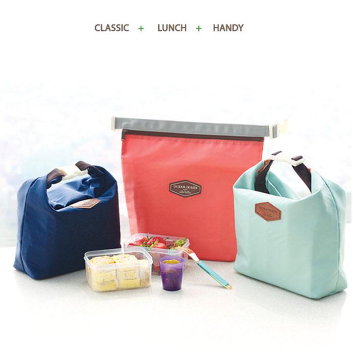 吉米凱文韓版時尚保溫袋保冷袋冰包保溫包便當包手提E26