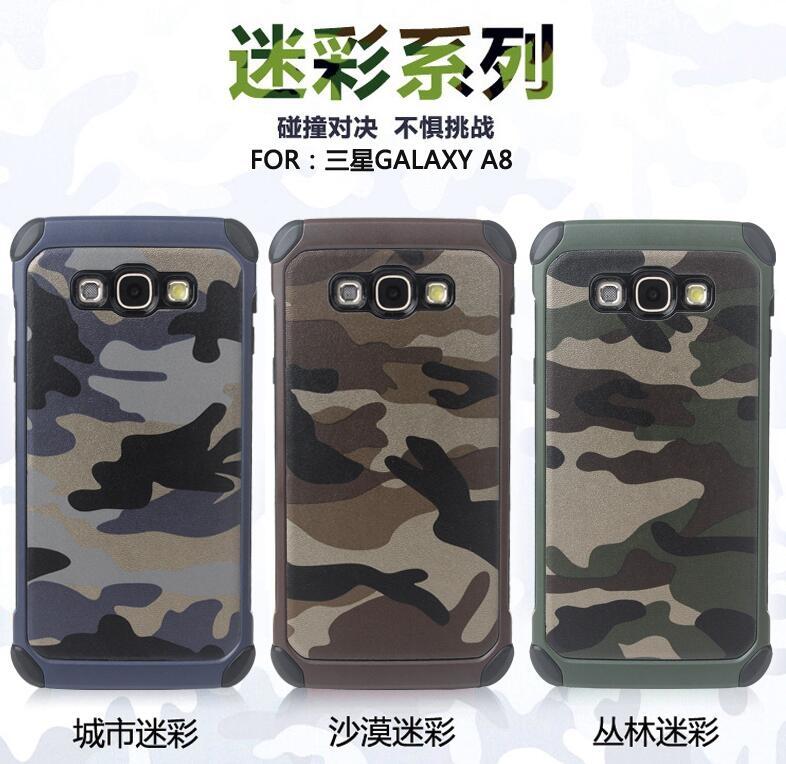 SZ A8手機殼創意迷彩二合一samsung A7手機殼三星a7 2016手機殼A5手機殼保護殼