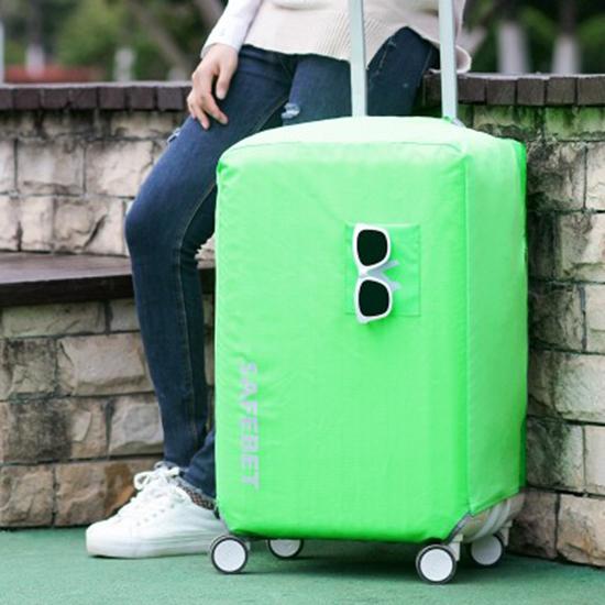 MY COLOR防水素面行李套L號彈力保護套加厚耐磨保護罩牛津布行李箱防塵N368