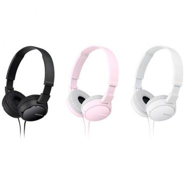 SONY耳罩式立體聲耳機MDR-ZX110AP黑