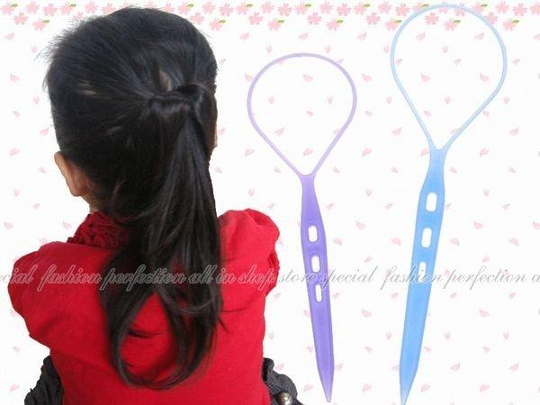 【EI250】編髮器3入(彩色款)-小 林葉亭推薦 花樣盤髮器.花樣穿髮棒.編髮棒.髮飾編織器★EZGO商城★