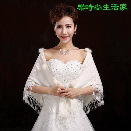 2017婚宴喜慶旗袍披肩禮服披肩Y000