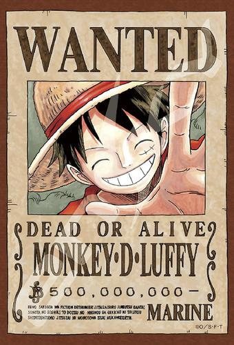 拼圖總動員PUZZLE STORY航海王新版懸賞單-魯夫日本進口拼圖Ensky海賊王One Piece 150P迷你