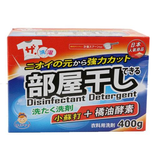 生活老媽小蘇打橘油酵素洗衣粉400g愛買