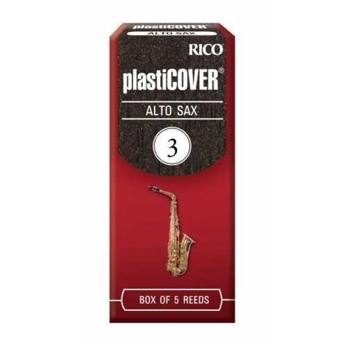金聲樂器美國Rico Plasticover Alto Sax 3號中音薩克斯風竹片黑竹片5片裝現貨