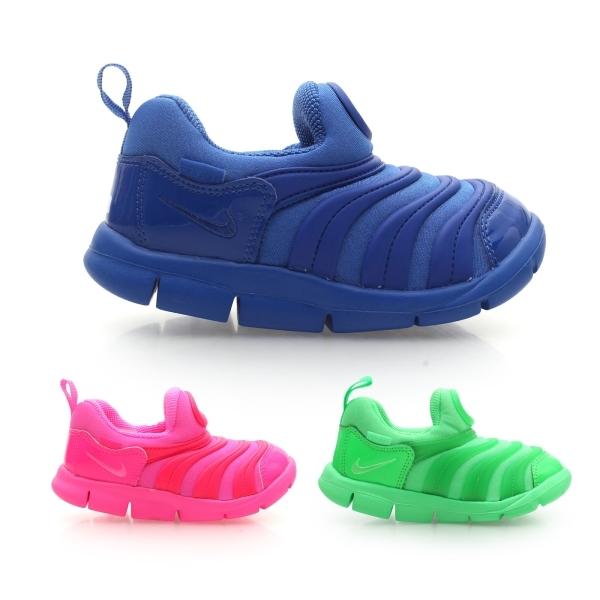 NIKE兒童慢跑鞋DYNAMO FREE TD免運男童排汗專家