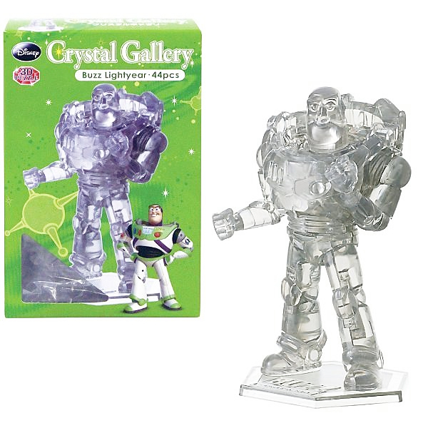3D Ctystal Galley迪士尼立體水晶拼圖巴斯光年3D立體拼圖灰色JOYBUS玩具百貨