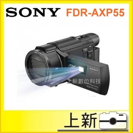 下標立出《台南-上新》SONY FDR- AXP55 4K 投影 攝影 機 錄影 贈64G 原電(共兩顆) 大腳架 攝影包