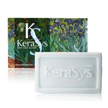 KERASYS可瑞絲曠世名畫精油皂100g-葡萄柚橄欖海洋深層水韓物通