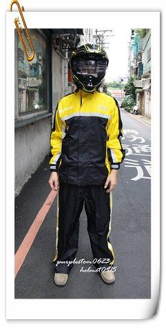 ARAI雨衣,K2,黑黃