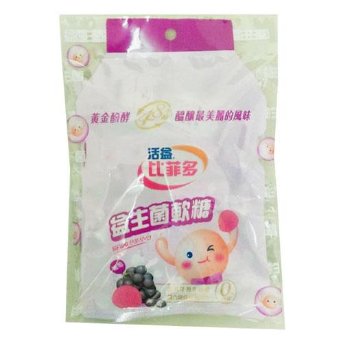 【合迷雅好物超級商城】比菲多益生菌軟糖-葡萄75g/大包/暢銷商品