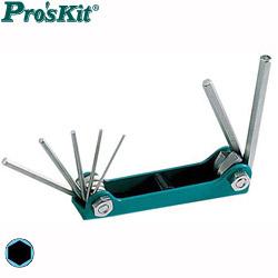 Pro'sKit 寶工 8PK-021N 公制摺疊型內六角板手組