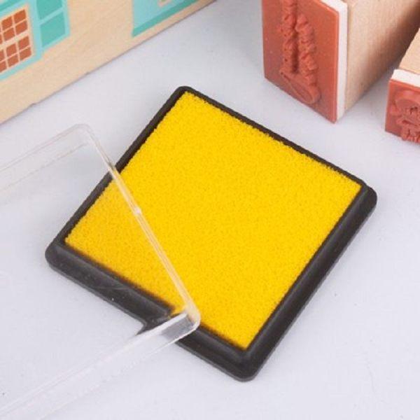 方盒彩色印泥(黃色)【魔小物】「現貨4」