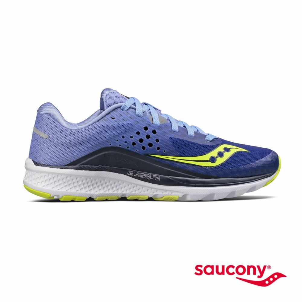 SAUCONY KINVARA 8專業訓練鞋款-薰衣草紫x夜藍漸層