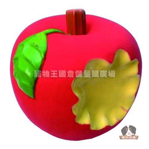【寵物王國】萬啾WantChew乳橡膠寵物玩具/金賀甲 - 蘋果